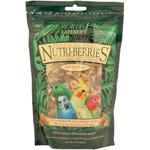 Lafeber Tropical Fruit NutriBerries Parrot Funhouse