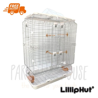 LillipHut L12 cage for small-medium parrots
