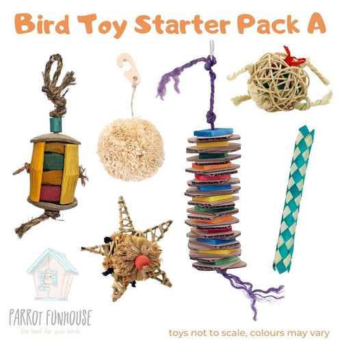 Bird Toy Starter Pack A