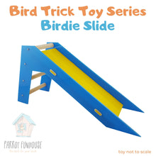 Load image into Gallery viewer, Bird Trick Birdie Slide 42x13x20.5cm Parrot Funhouse