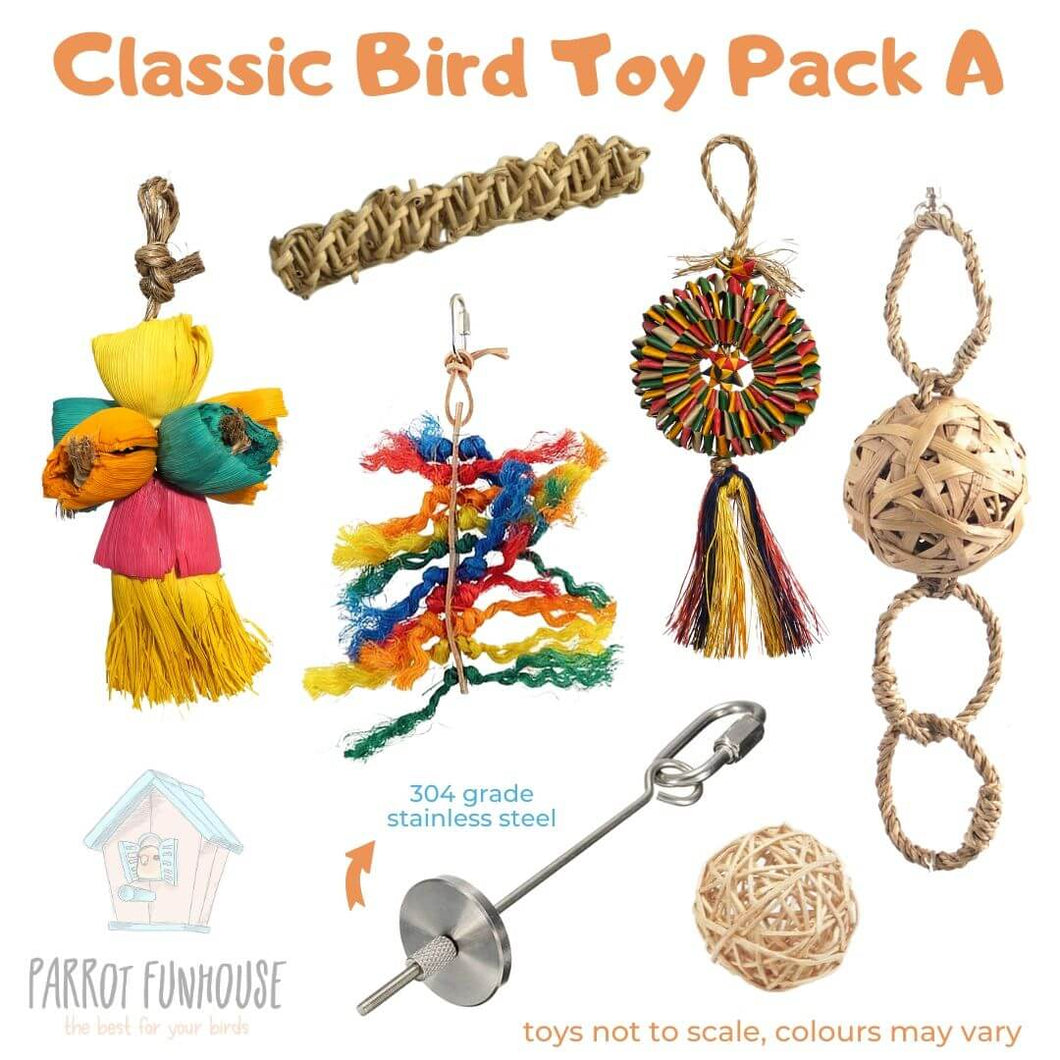 Classic Bird Toy Pack A