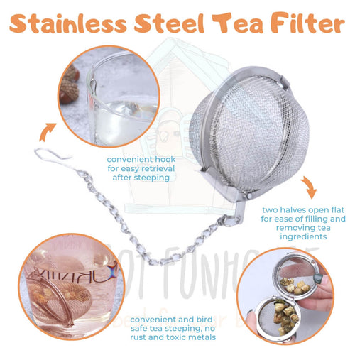 Stainless Steel Avian Tea Filter