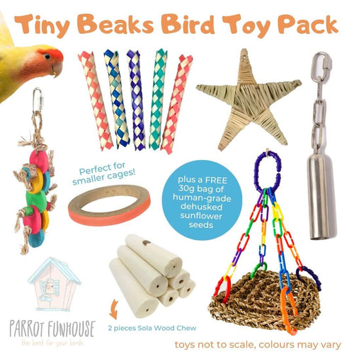 Tiny Beaks Bird Toy Pack (2nd edition)