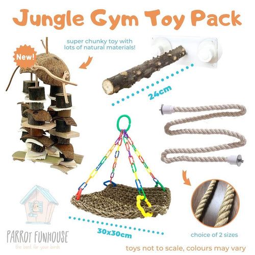 (NEW) Jungle Gym Toy Pack