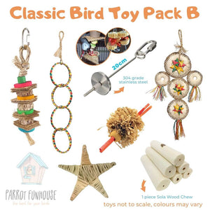 Classic Bird Toy Pack B