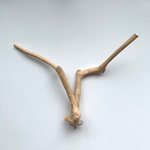 Natural Java Wood Multi-branch Perch