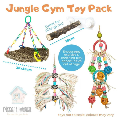 Jungle Gym Toy Pack (3rd edition)