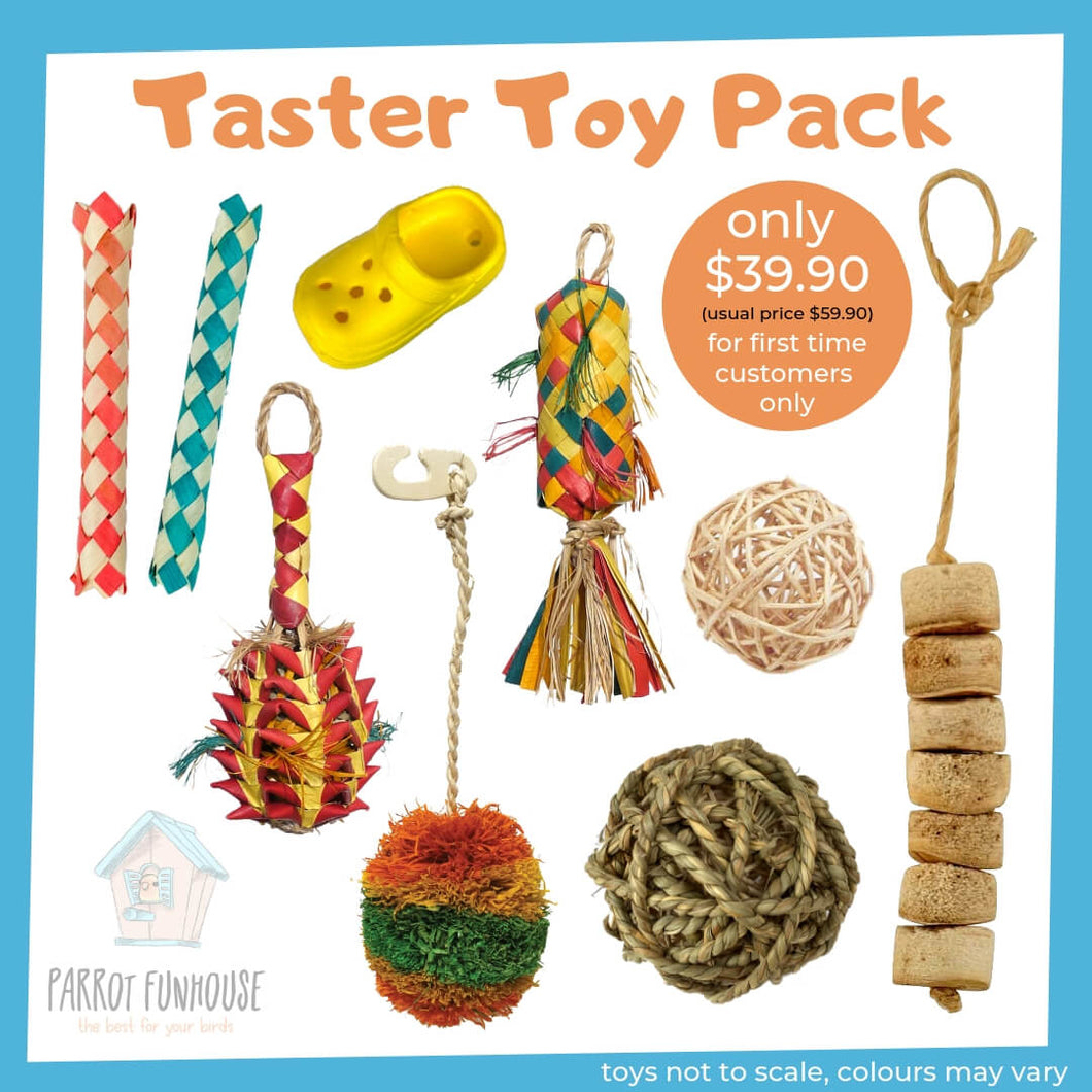 Taster Toy Pack Parrot Funhouse
