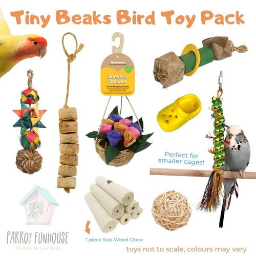 Tiny Beaks Bird Toy Pack