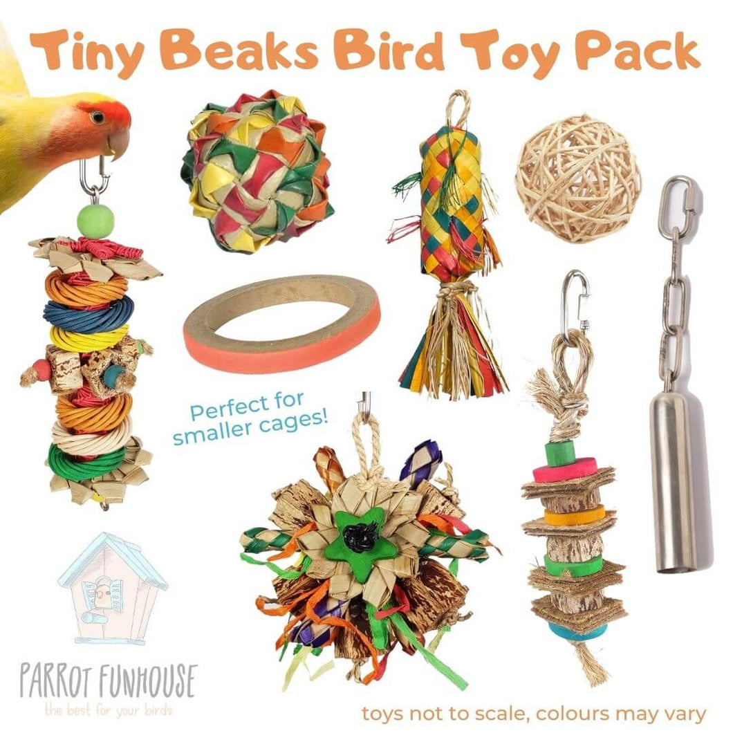 Tiny Beaks Bird Toy Pack (3rd edition)