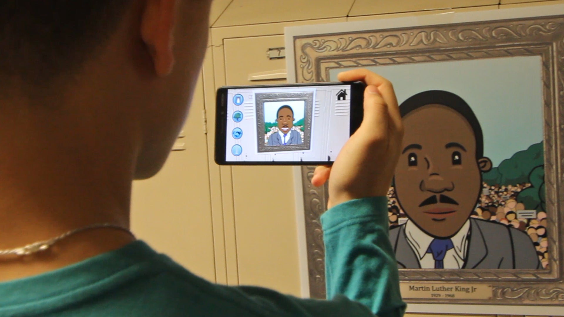 Journey for Civil Rights in Augmented Reality Exhibit