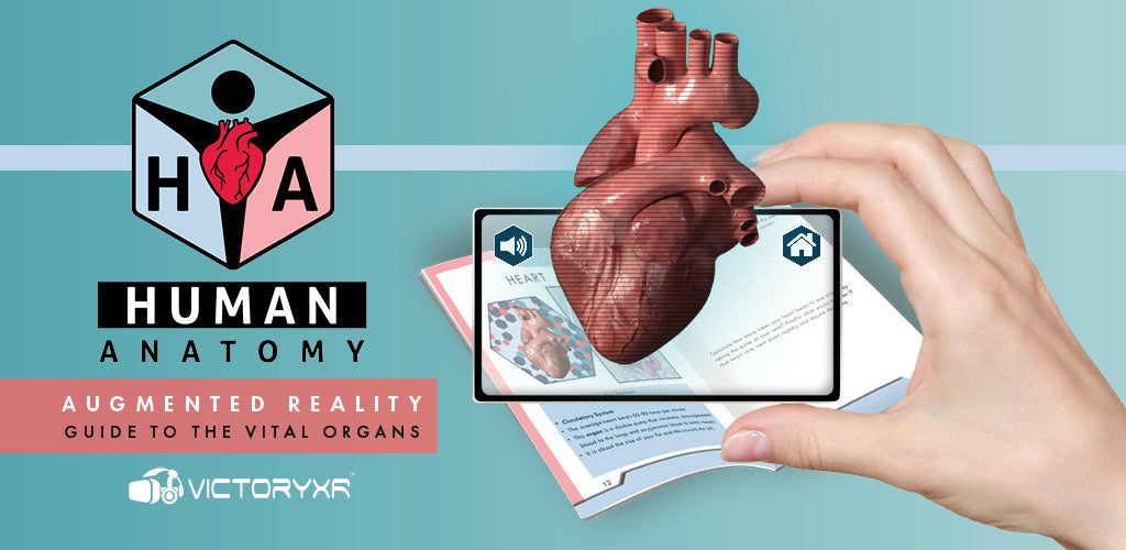 Human Anatomy Augmented Reality Book-Student Edition