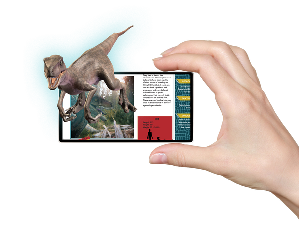 Living World Of Dinosaurs Ar