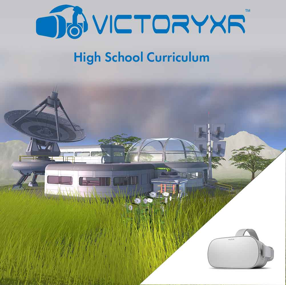 Oculus Go + High School VR Curriculum + FREE Shipping