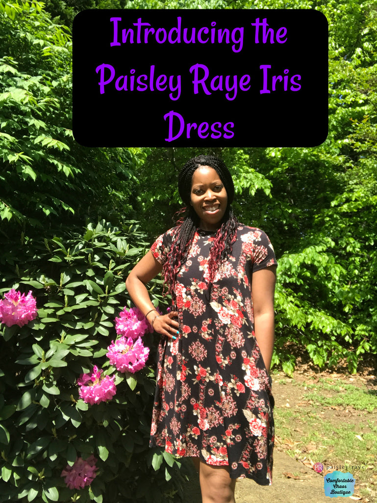 Introducing the Paisley Raye Iris Dress!