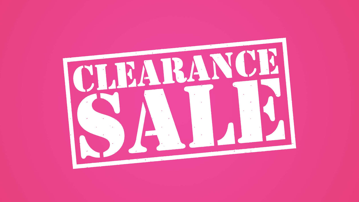 Clearance - 50% off Posted Prices