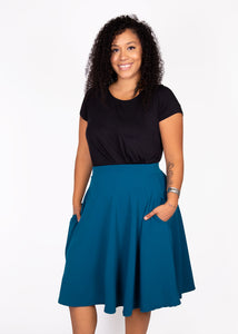 Bloom Skirt - Dark Teal
