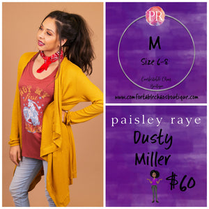 comfortable-chaos-boutique - Dusty Miller - Mustard (M) - Layering