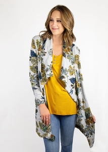 comfortable-chaos-boutique - Dusty Miller - Gray Floral - Layering
