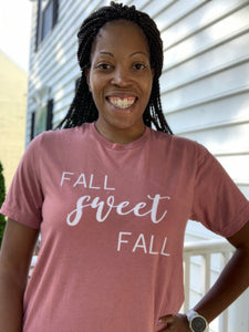 comfortable-chaos-boutique - Fall Sweet Fall Graphic Tee - Top