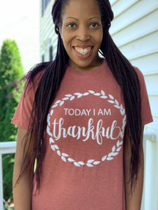 comfortable-chaos-boutique - Thankful Graphic Tee - Top