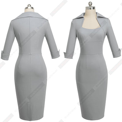 Professional Women Formal Dress