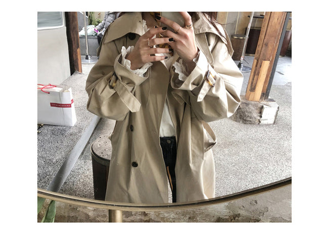 Vintage Autumn winter trench overcoats