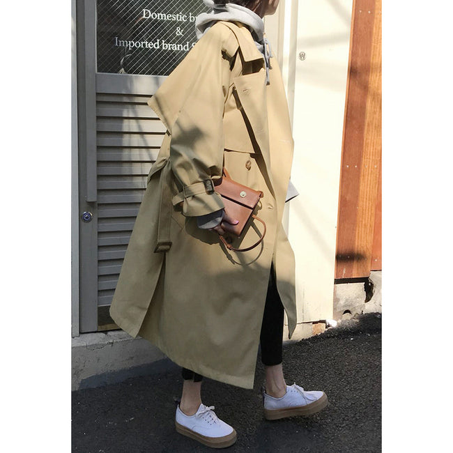 Women's Casual Trench Coat Oversize