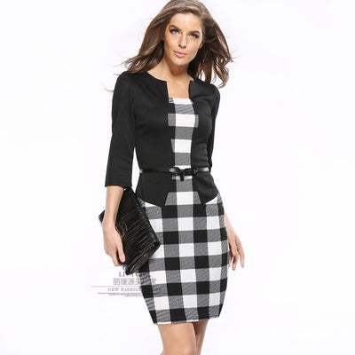 Women Two Sets Professional Bodycon