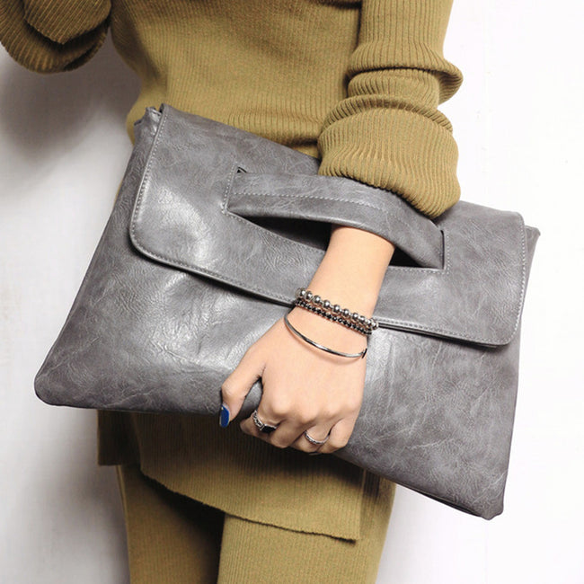 Women's envelope clutch bag