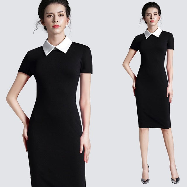 Women Clothing Vintage Black Women