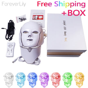 7 Colors Led Korean Photon Therapy Face Mask Machine Light Therapy