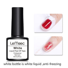 Load image into Gallery viewer, 8ml Pink Anti-freezing Peel Off Nail Art Latex Cuticle Guard
