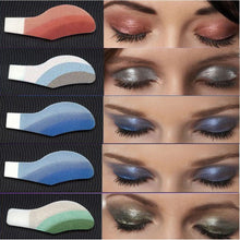 Load image into Gallery viewer, 6 Pair Instant Eye Shadow Temporary Makeup Eye Tattoo Stickers