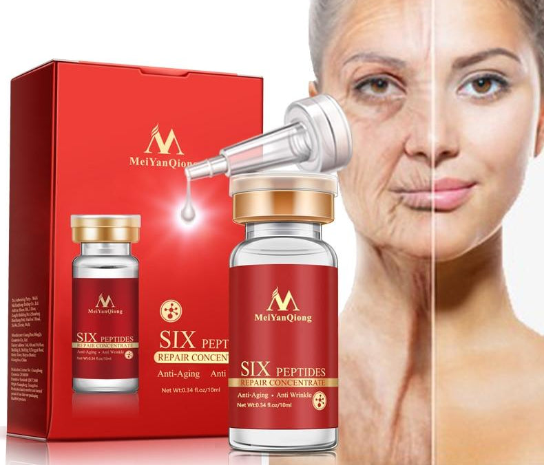 Arginine+Aloe Vera+collagen peptides rejuvenation anti wrinkle Serum for the face skin care products