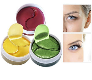 60PCS Gold Eye Hydrogel Masks Collagen Eye Patches
