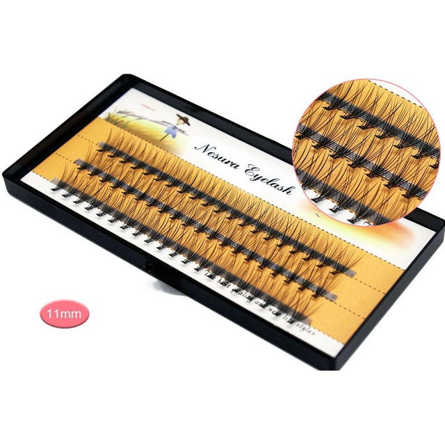 8 types individual eyelashes professional soft mink eyelash extension