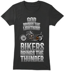 Bikers Bring The Thunder