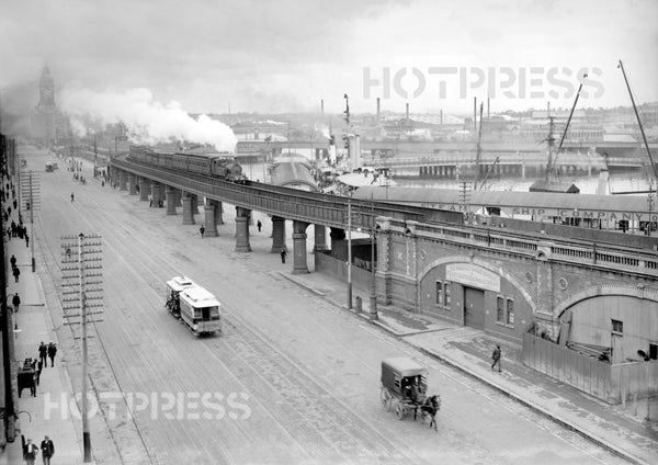 1911c Flinders Street Looking East