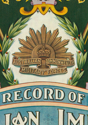 1920 Record of the AIF in the Great War
