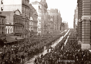 1914 1st Australian Division Leaving From Melbourne