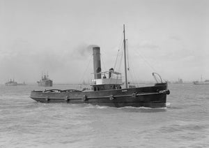 "Steam Tugboat ""Racer"""