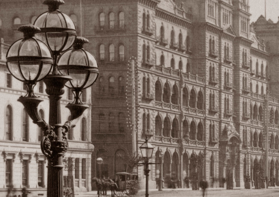 1890s Spring Street from the Treasury steps