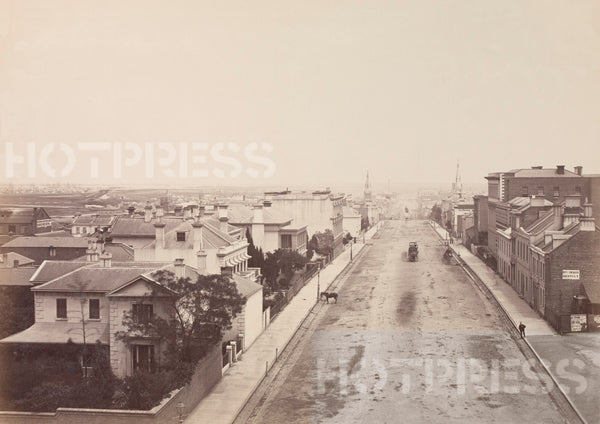 1865 Collins Street looking West from Spring Street