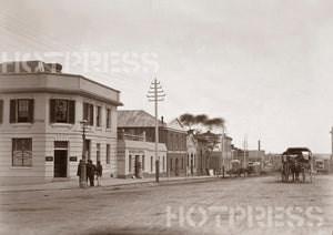 1865 Collins Street looking West over William Street