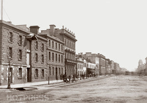 1870 Elizabeth Street Looking North