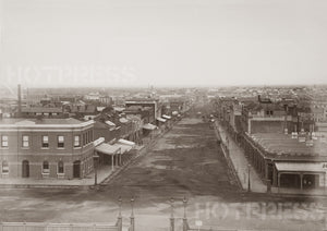 1861 Bourke Street Looking West