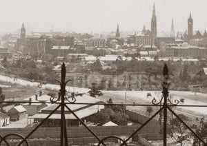 1880s View along St Kilda Road