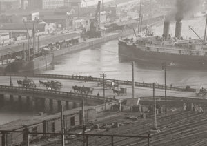 1920s Flinders Street and the Yarra