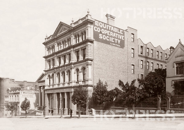 1885 Collins Street - Equitable Co-operative Society Building (later Georges)